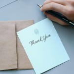How Thank You Notes Are Generators for Marketing Keywords