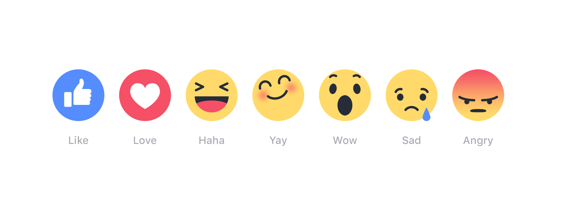 facebook's reactions marketing printworks