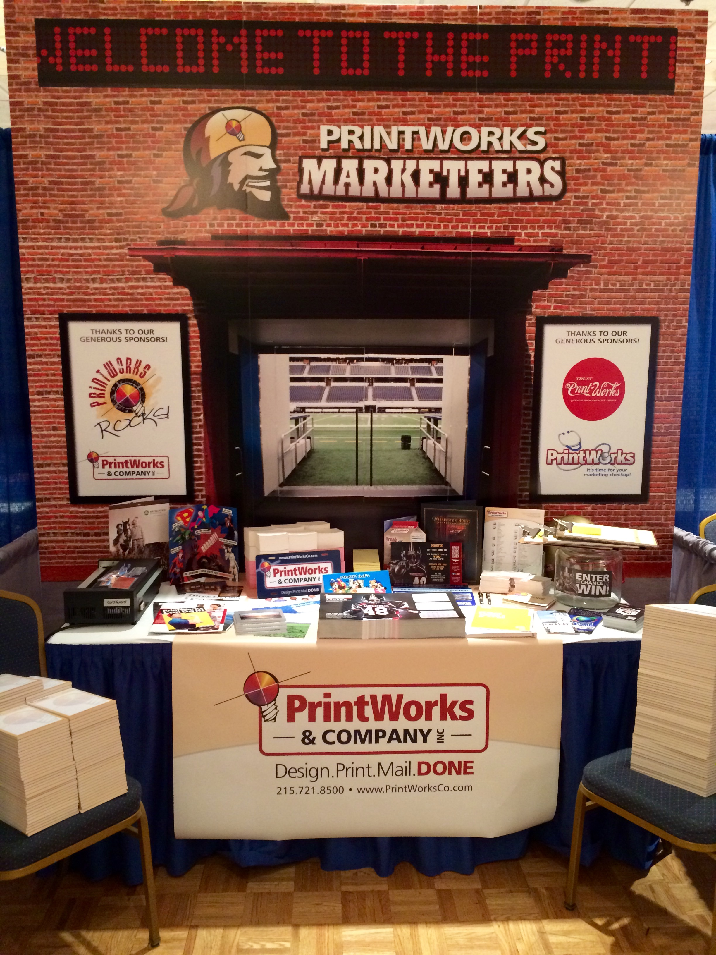 printworks trade show display