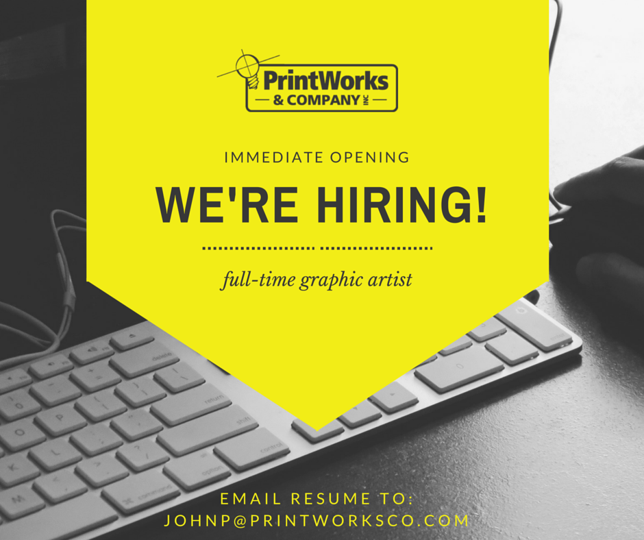 printworks hiring job news