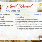 Key Lime Pie – April's Recipe of the Month