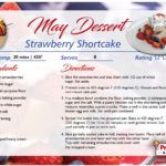 Strawberry Shortcake – May's Recipe of the Month