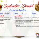 Caramel Apples – September's Recipe of the Month