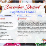 Gingerbread Cookies – December's Recipe of the Month