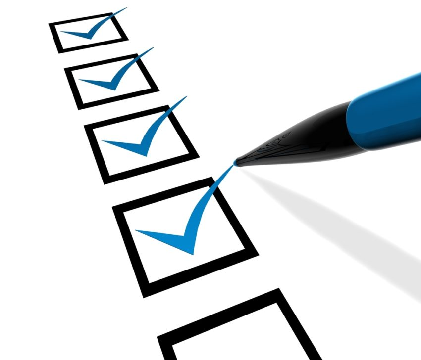Essential 5 Point Marketing Checklist